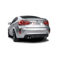 Akrapovic Carbon- Heck-Diffusor  BMW X6 M (F86) 15