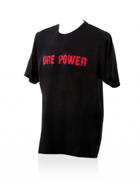 Akrapovic T-SHIRT Pure Power Herren Schwarz