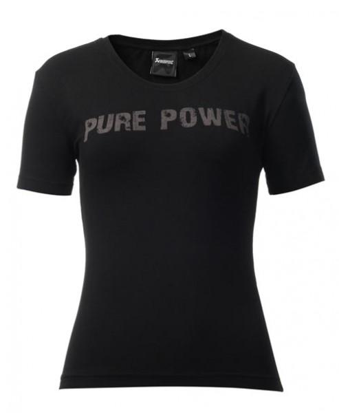 Akrapovic T-SHIRT Pure Power Damen Schwarz