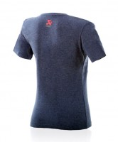 Akrapovic T-SHIRT Pure Power Damen Jeans Blau