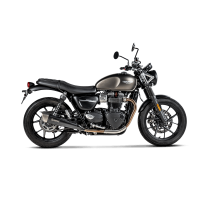 Akrapovic Auspuff Slip-On TRIUMPH Street Twin 900