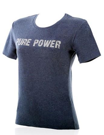 Akrapovic T-SHIRT Pure Power Damen Jeans Blau