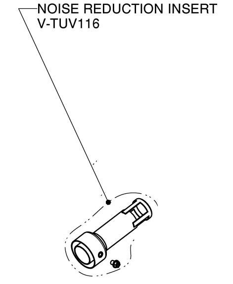 Akrapovic dB-Killer/dB-Eater Ø32mm passend auf die rechte Seite