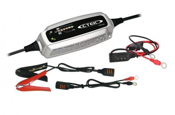 C-TEK Universelles Hochfrequenz- Batterielade- & Erhaltungsgerät SET inkl. Comfort- Indicator