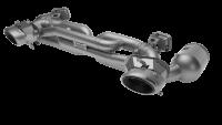 Akrapovic Auspuff Slip-On Titan PORSCHE 992 (911) TURBO / TURBO S  - OPF/GPF