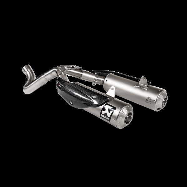 Akrapovic Edelstahl- Katersatzrohr DUCATI Scrambler 1100 18-19