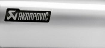 Akrapovic Hüllenkit Edelstahl- V4A Hülle, Nietbändern, Edelstahl- V4A Niete, Aufkleber