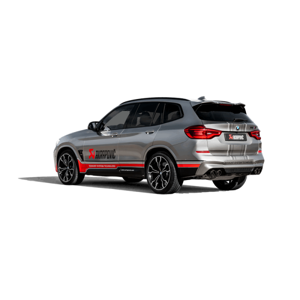 Akrapovic Auspuff Slip-On Titan BMW X3 M X3 M Competition (F97) - OPFGPF