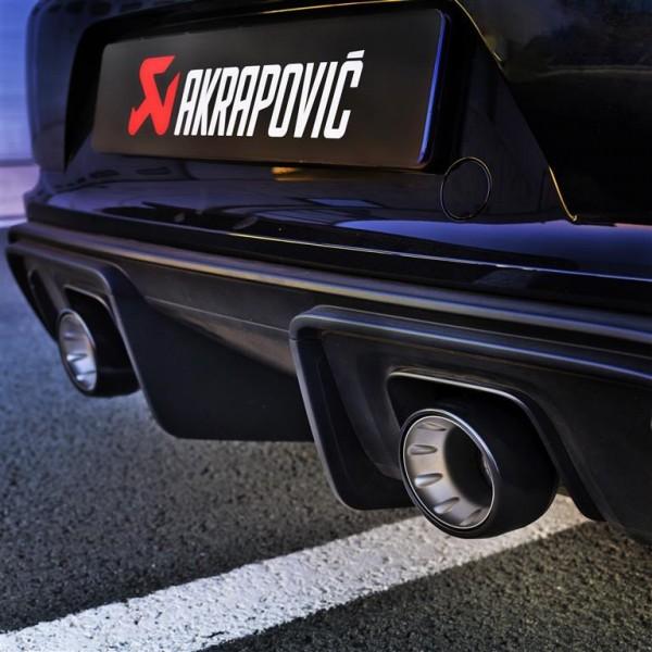 Akrapovic Auspuff Slip-On Titan/Black PORSCHE 718 Cayman GT4 - OPF/GPF