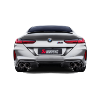 Akrapovic Auspuff Slip-On Titan BMW M8 / M8 Competition Gran Coupé (F93) - OPF/GPF