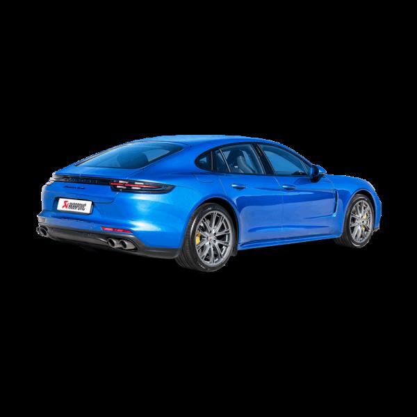 Akrapovic Komplettanlage Titan PORSCHE 971 Panamera Turbo/S E-Hybrid/Turismo 17-18