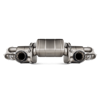 Akrapovic Auspuff Slip-On Titan/Black PORSCHE 718 Cayman GTS 4.0 / Boxster GTS 4.0