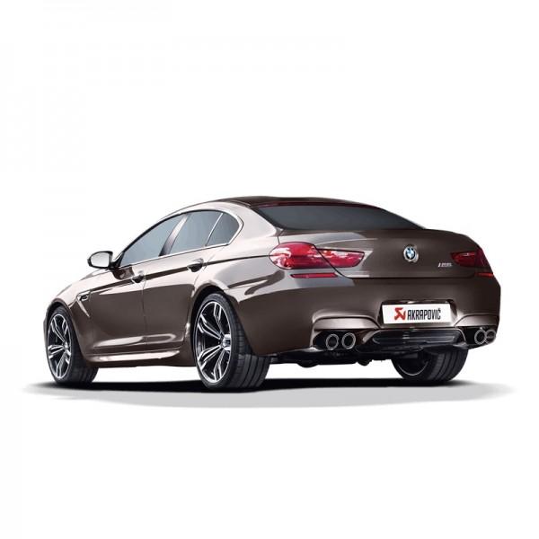Akrapovic Komplettanlage Titan BMW M6 (F06) Gran Coupé 13-18