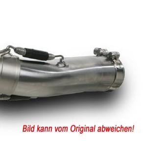 Akrapovic Zwischenrohr Slip-on- Edelstahl- V4A, 60mm Anschluss