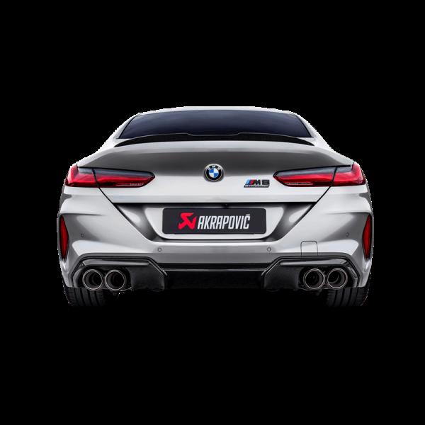 Akrapovic Auspuff Slip-On Titan BMW M8 / M8 Competition Gran Coupé (F93) - OPF/GPF