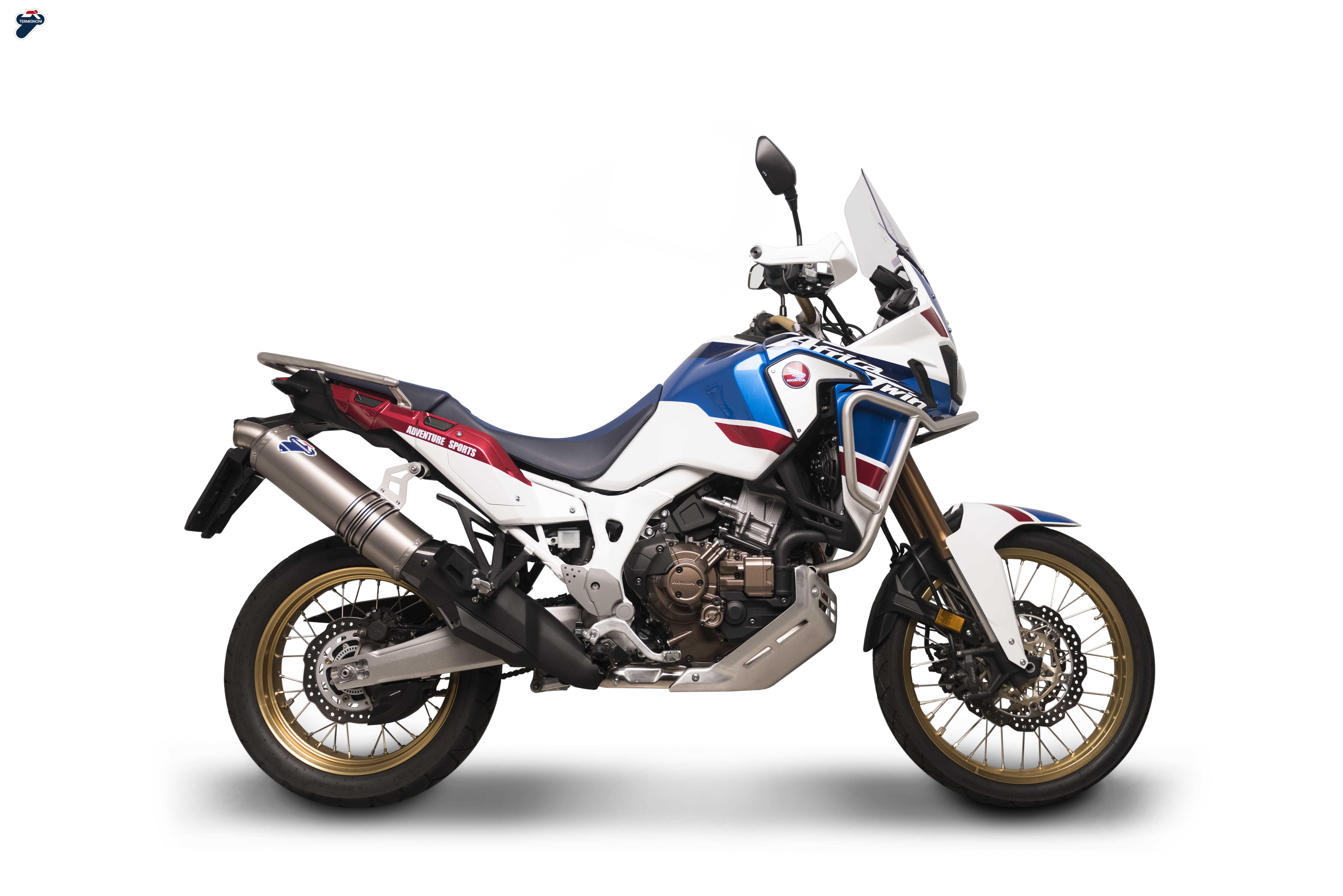 Termignoni Auspuff Slip On Honda Crf 1000 L Africa Twin Adventure Sports 17 19 Jamparts