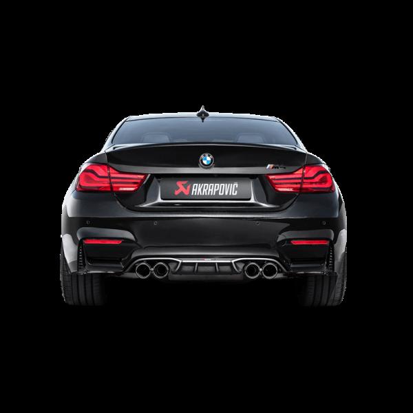 Akrapovic Schalldämpfer Titan BMW M4 (F82, F83) - OPF/GPF 18-