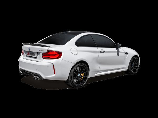 Akrapovic Auspuff Slip-On Titan BMW M2 CS (F87N)