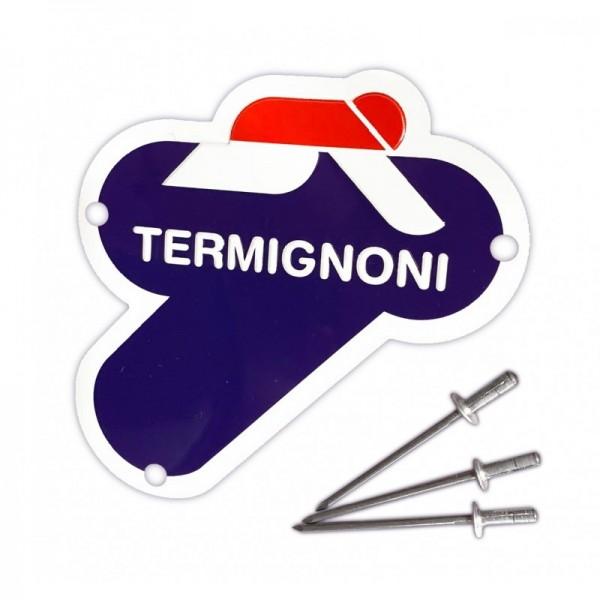 Termignoni Metallschild 75 mm