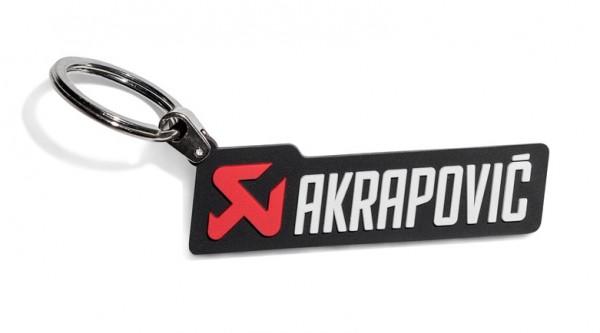 Akrapovic Schlüsselanhänger horizontal