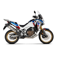 Akrapovic Auspuff Slip-On HONDA CRF 1100 L Africa Twin /Adventure Sports