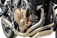 Termignoni Edelstahl- Krümmer ohne Schalldämpfer HONDA CRF 1000 L Africa Twin 16-18