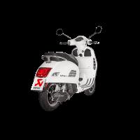 Akrapovic Vespa GTS 125 Super 17