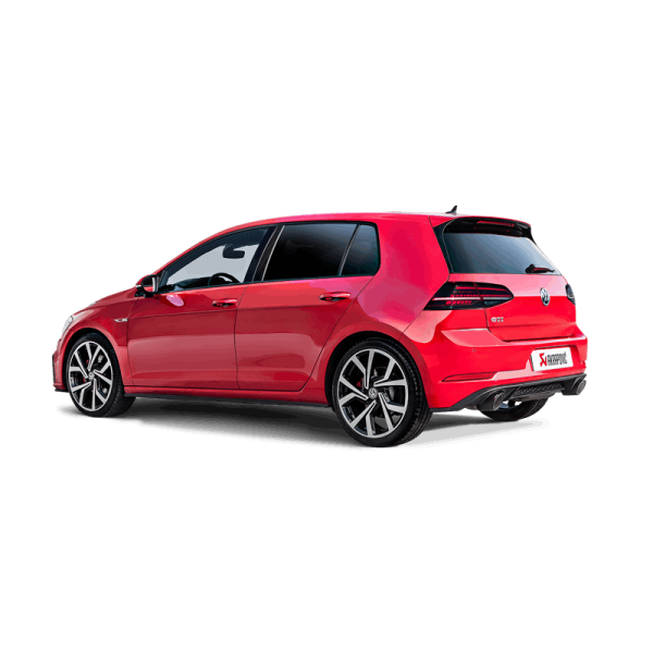 akrapovic schalld mpfer volkswagen golf vii gti fl 169. Black Bedroom Furniture Sets. Home Design Ideas